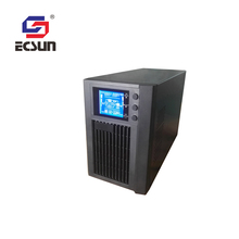 Factory direct sale unbalanced loads 1 kva lcd online ups price