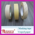 China supplier painting masking crepe paper tape