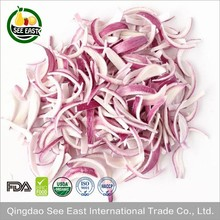 new product 2017 FD vegetables freeze dried red onion dried red onions