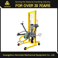 Portable Hand Oil Drum Rotator Pourer Manual Hydraulic Drum Lifter
