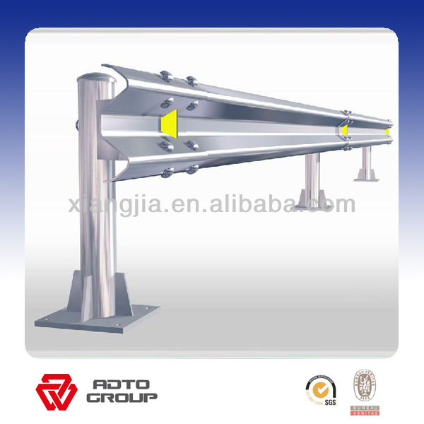 hot sell and best quality galvanized guardrail post / guard rail for safety ( factory & ISO9001 )