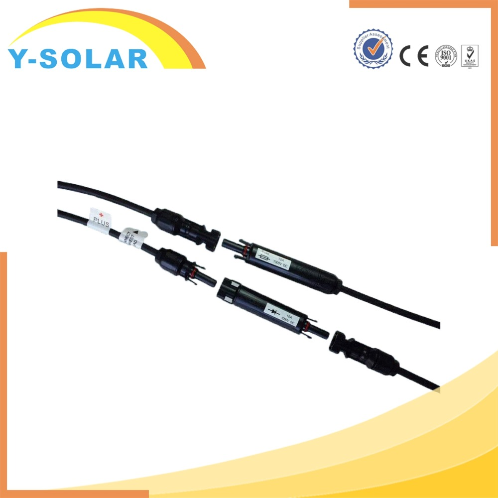 Y-SOLAR MC4B-C1-10A TUV MC4 Solar Fuse holder/Connector 10a/15a compatibel MC4 Connector