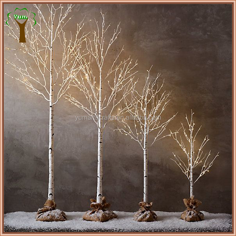 Decorative Led Lighting Artificial Birch Tree Buy