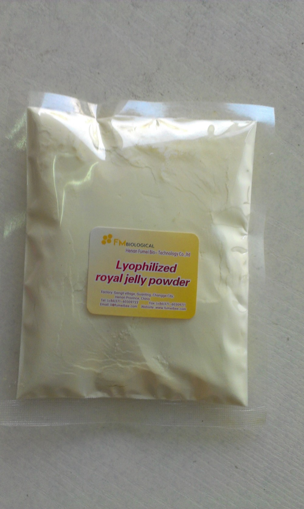 antibotic free high quality lyophiled/ freeze dried royal jelly powder