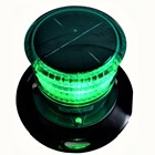 DOUBLEWISE Solar Powered LED Marine Beacon/Deck Navigation Signal Light