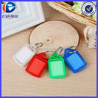 Promotional Gift Wedding Souvenirs Plastic Photo Frame Keychain Wholesale
