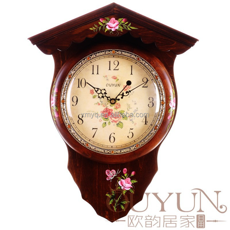 Home Goods Wall Clocks china style home goods mirror wall clock - buy mirror wall clock