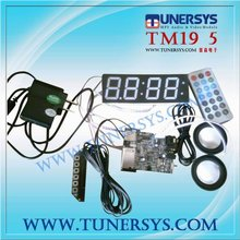 TM19 speaker musical LED alarm clock radio TFT panel