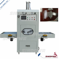 Automatic power charger high frequency PVC welding machine