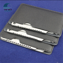 Top-MCT1 11 in 1 multi function credit card hand tools card portable survival knife swiss card