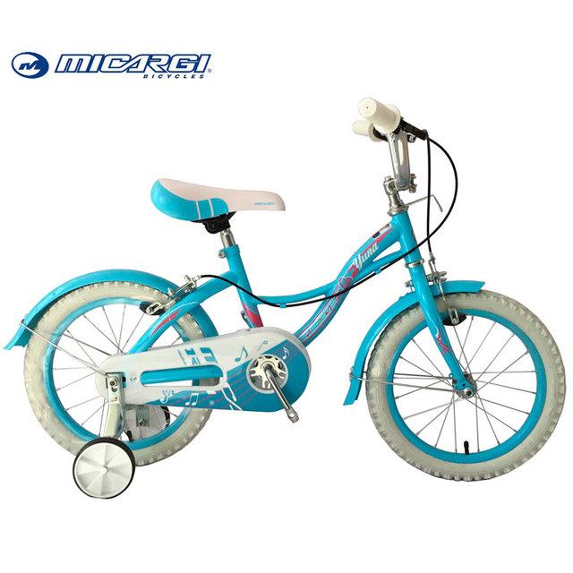 Micargi 16 inch children bicycle YUNA training wheel girls kid bike