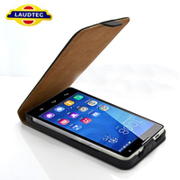2014 New Products Ultra Slim Flip Case for Huawei Honor 3C --Laudtec