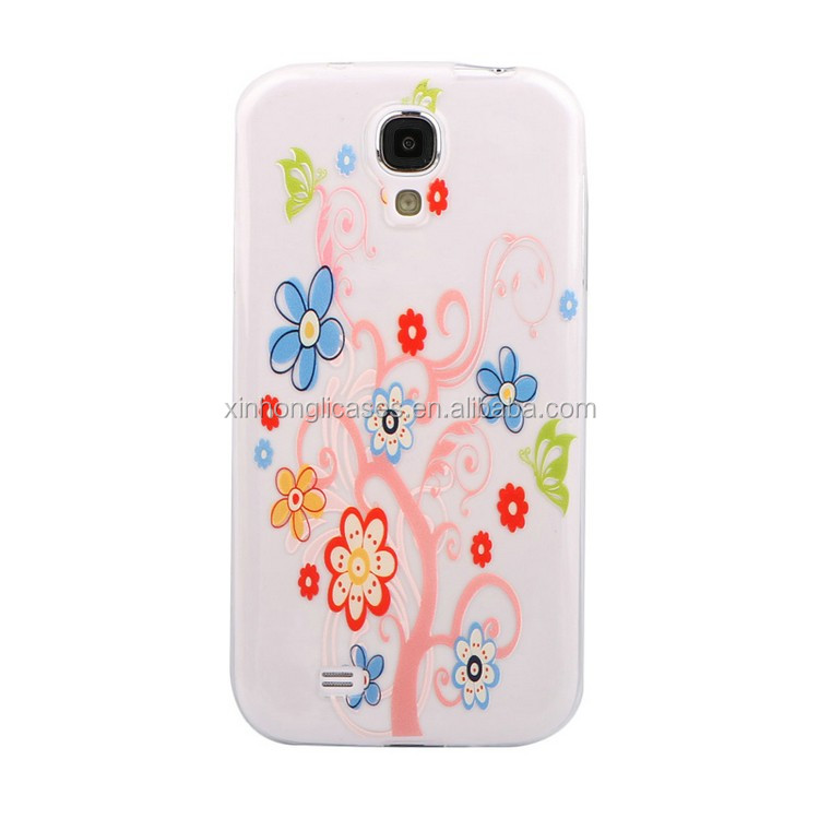 Alibaba products for S4 colored TPU uv printing cases import china goods