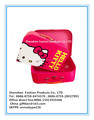 Hello kitty Cardboard children suitcase with metal handle