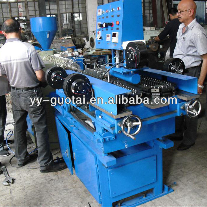 PP/PVC/PE Corrugated Pipe Making Machine