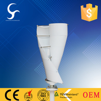 Helical mini Wind turbine generator100w 200w hot sale