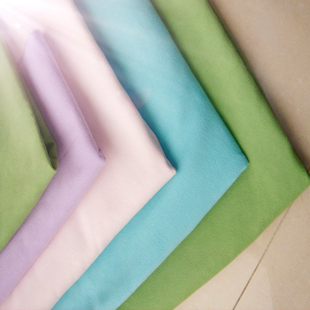 china wholesale microfiber brushed fabric,2016 Hot Sell China Suppliers double brushed fabric