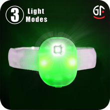 Hot New Ptoduct Lucky Charm Colorful Glow in the Dark Led Flashing Lighting Bracelet