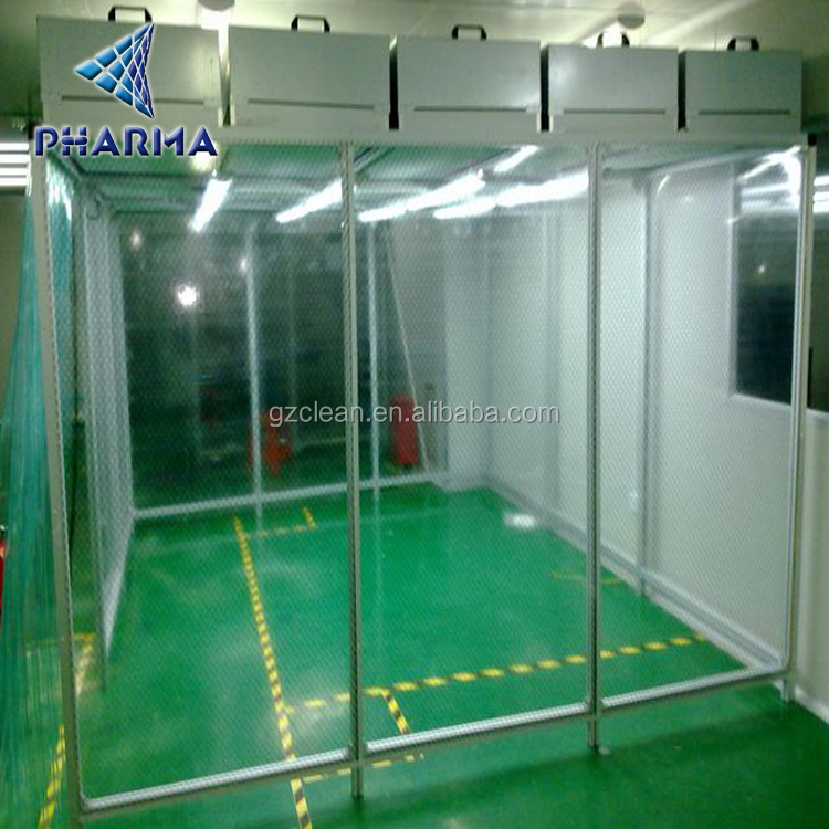 Class 100 clean booth/small clean room/mobile clean zone