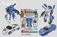 KCC141931 wholesales plastic toy car robot from china