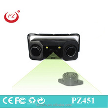 car rearview camera with car sensor parking