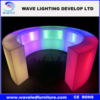 Factory Best price illuminated nightclub damaged furniture for sale/commercial bar counters/bar counter design