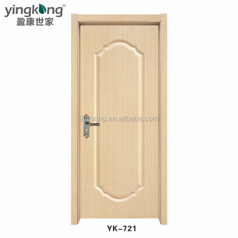 Yk721 high grade top arch cheap pvc interior wooden for Cheap pvc door