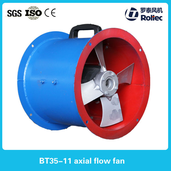 steel plastic impeller axial cooling fan vane tube exhaust axial fan