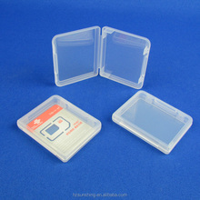 PP plastic SIM Adapter Case,Nano SIM Card Holder,Memory Card Holder