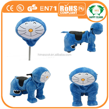 HI Hot walking horse toy/plush animal electric scooter/plush fabric for stuffed animal