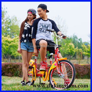 new design tandem bike bicycle 4 seater bike for sightseeing