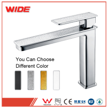 Pedestal basin faucet curved sanitary, long spout faucet from WIDE