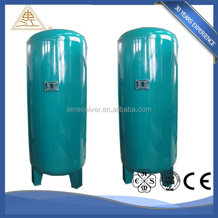Hot sell propane carbon steel air receiver tank with ASME
