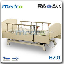 Electronic Two function Wooden Home Use Hospital Medical Bed H201
