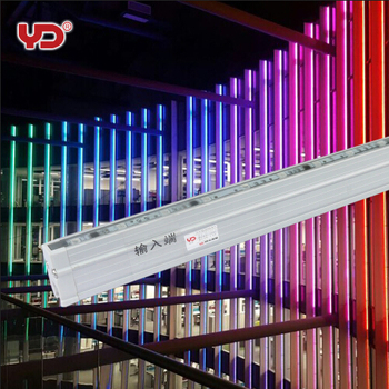 ip68 digital rgb 5050 smd led bar light outdoor building illumination