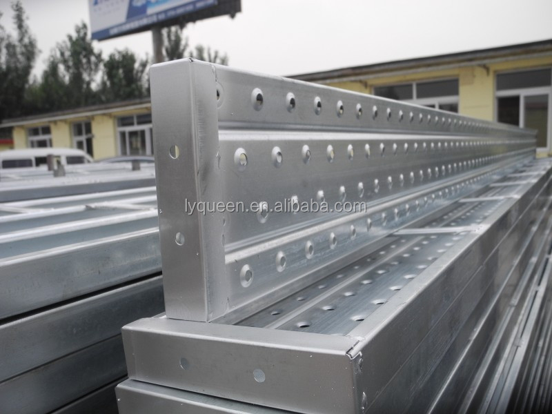 Hot Dip Galvanized Scaffolding Shoring Plank Steel Scaffold Parts For Sale