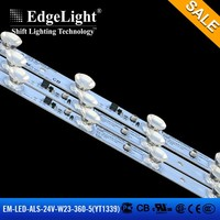 Edgelight new product aluminum profile lamp body rigid led strip light for led canvas display