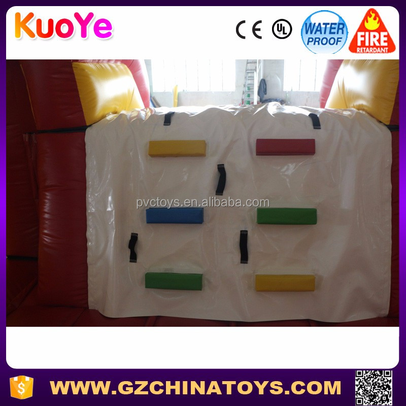 Customized two lanes slide jumper bouncer inflatable combo for kids