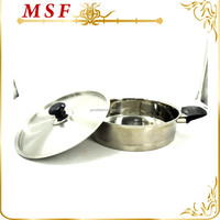 diamond handles and etching surface stainless steel dutch oven