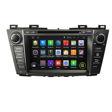 Hot Selling Android 4-Core High resolution Car Multimedia with DVB,Radio for Mazda