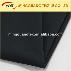 MG12013 Black color plain weave four way T/R spandex fabric for ladies pants and suits