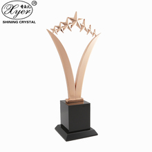 Custom wholesale metal award trophy champion trophies for direct sale