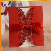 Luxury Wedding Invitation Card / Custom Greeting Card / Elegant Laser Cut Wedding Cards