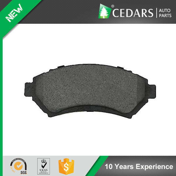10 Years Parts Wholesaler Heat-resistant Brake Pad for Toyota Corolla, Hiace, Land Cruiser