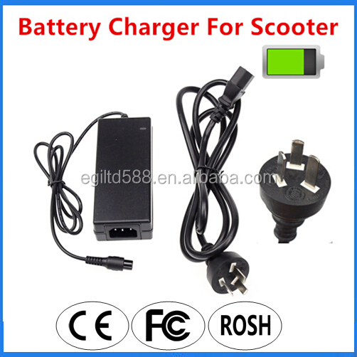 Electric Unicycle Adapter 42V 2A Smart Two Wheels Self Balance Scooters Battery Charger with AU Plug