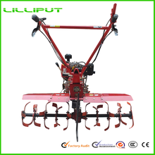 Types Of Two Wheel New Hand Operated Farm Equipment Manufacturers For Rice Farming