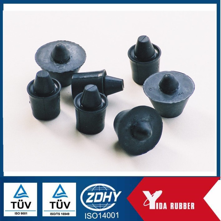 Chinese customized silicone rubber stopper used for pipe dust proof, epdm rubber pipe stopper used for industry application