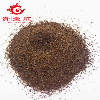 chinese yunnan ctc dust tea/black tea fannings with lowest price