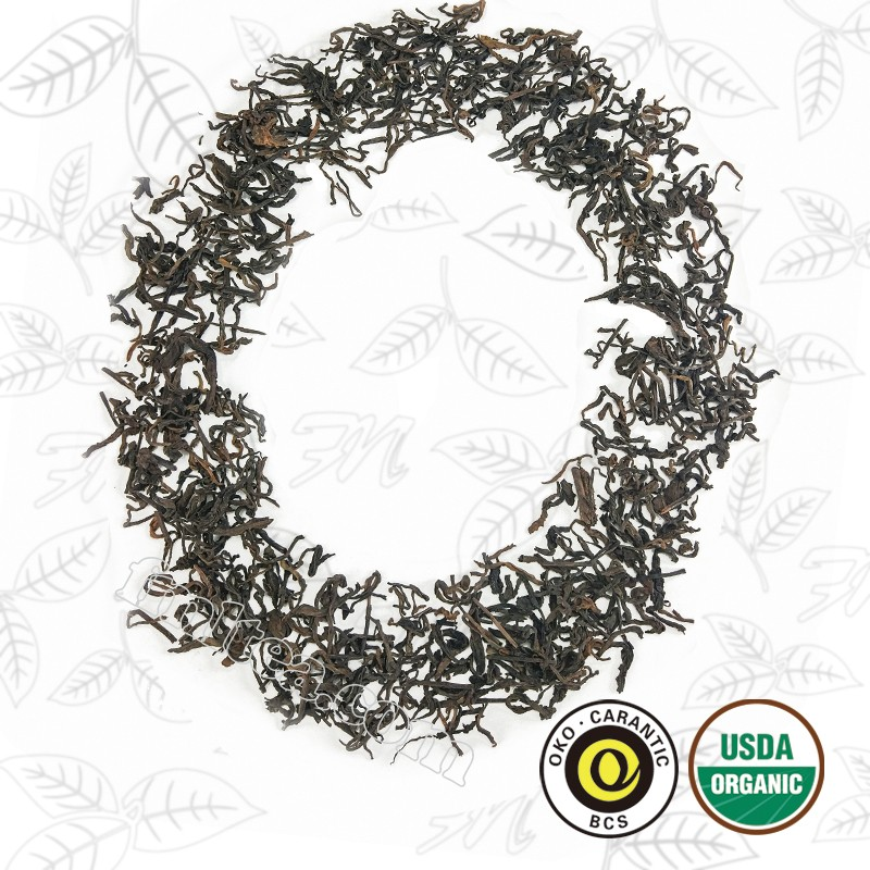 Organic Yunnan puer tea popular weight loss slimming loose leaf tea