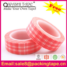 custom printed decorative printing Scottish packing tape for gift